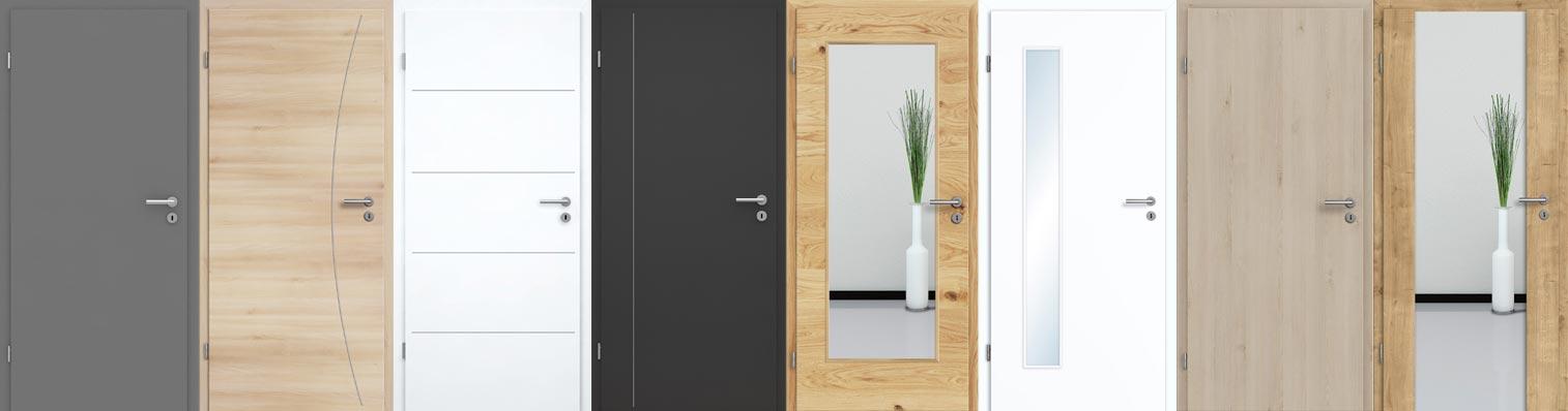 Türen und Zargen günstig als Komplettelement