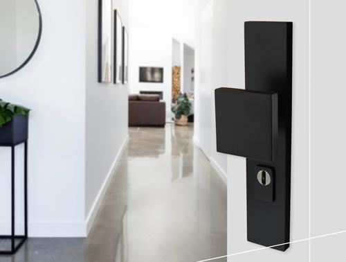 dr ckergarnitur edelstahl schwarz t rbeschlag kaufen bycajo. Black Bedroom Furniture Sets. Home Design Ideas